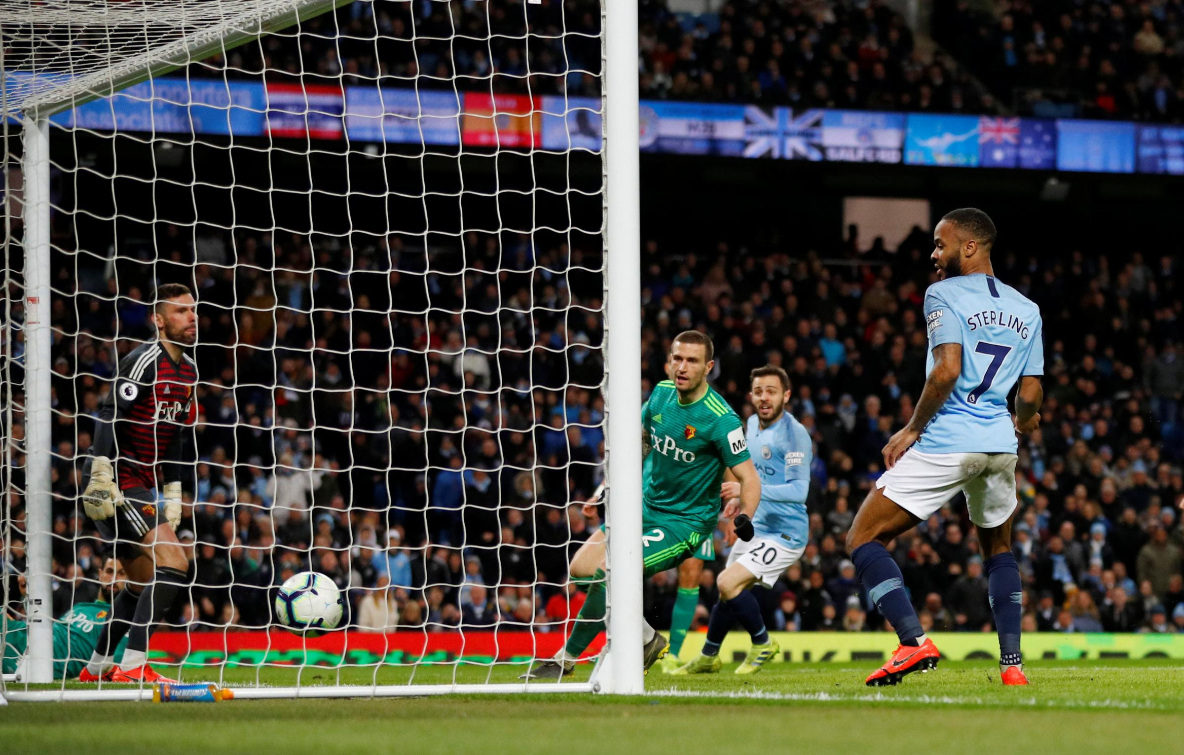 REPORT: Sterling hat-trick thwarts Hornets