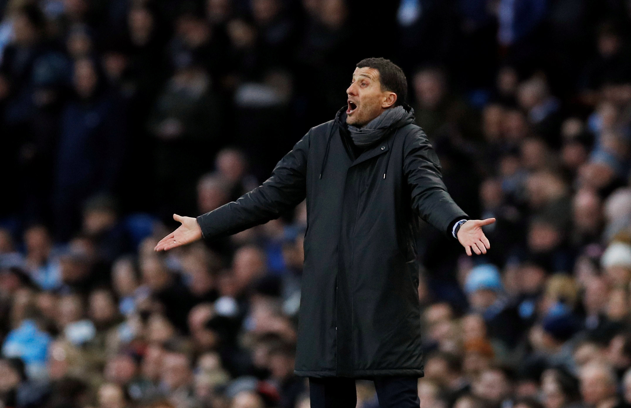 Gracia: 'Everybody could see offside'