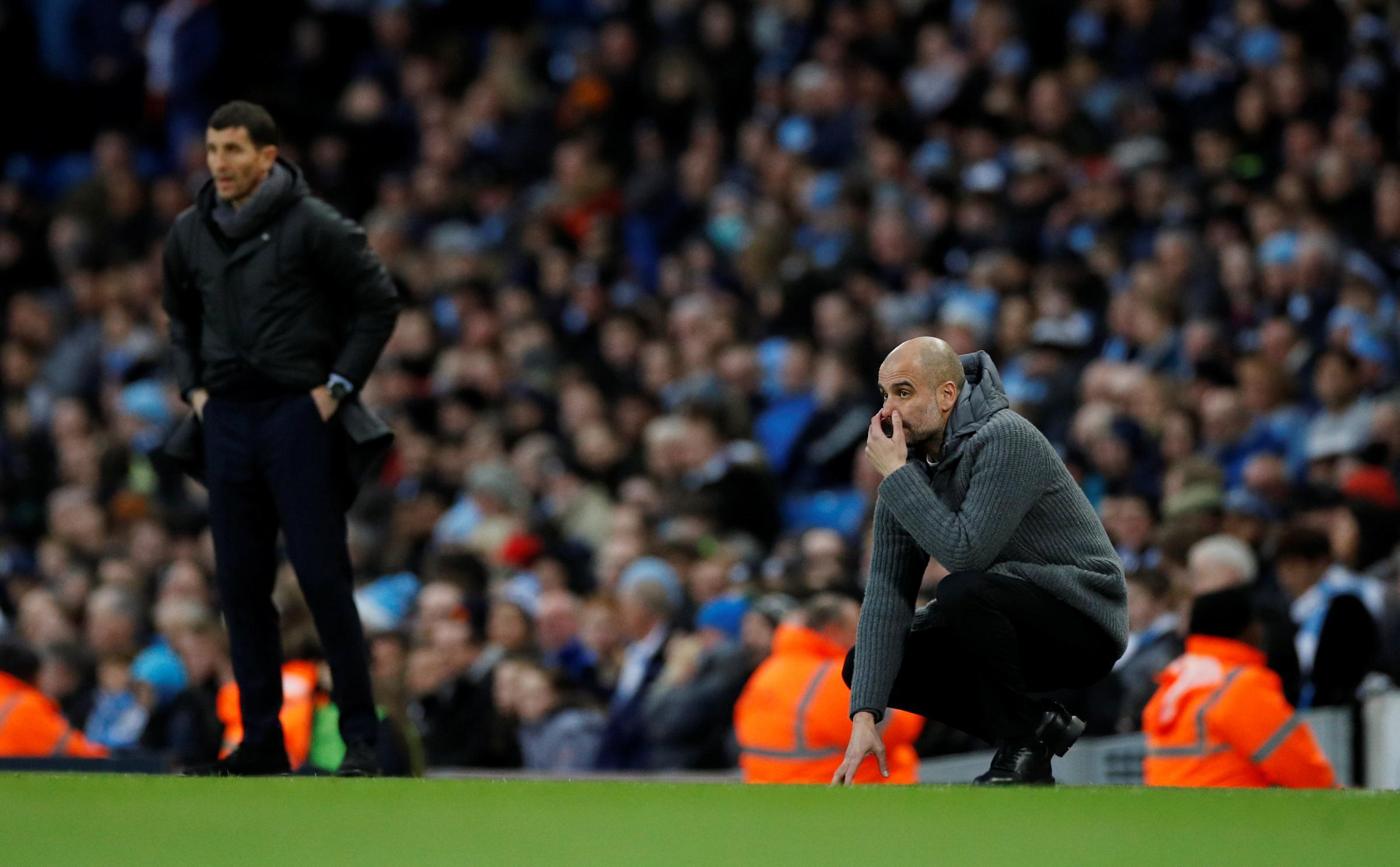 Guardiola apologises for offside goal