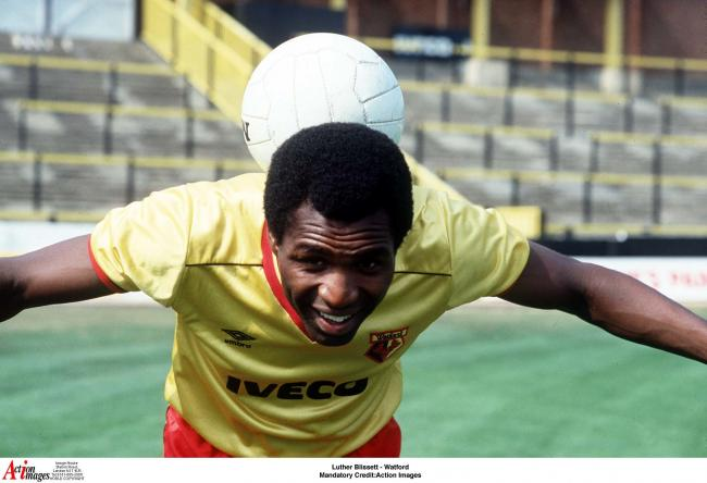 Watford legend Luther Blissett wants positive energy from players and fans. Picture: Action Images