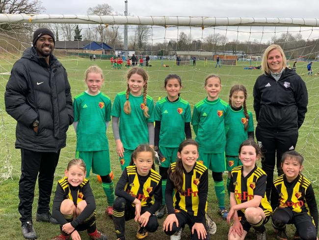 It was a weekend of highs and lows for watford FC Girls