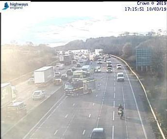 Queues On M25 Near Potters Bar Due To Fuel Spillage Watford Observer