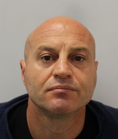 Mane Driza was convicted of his fifth murder at the Old Bailey on Wednesday. Photo: Met Police