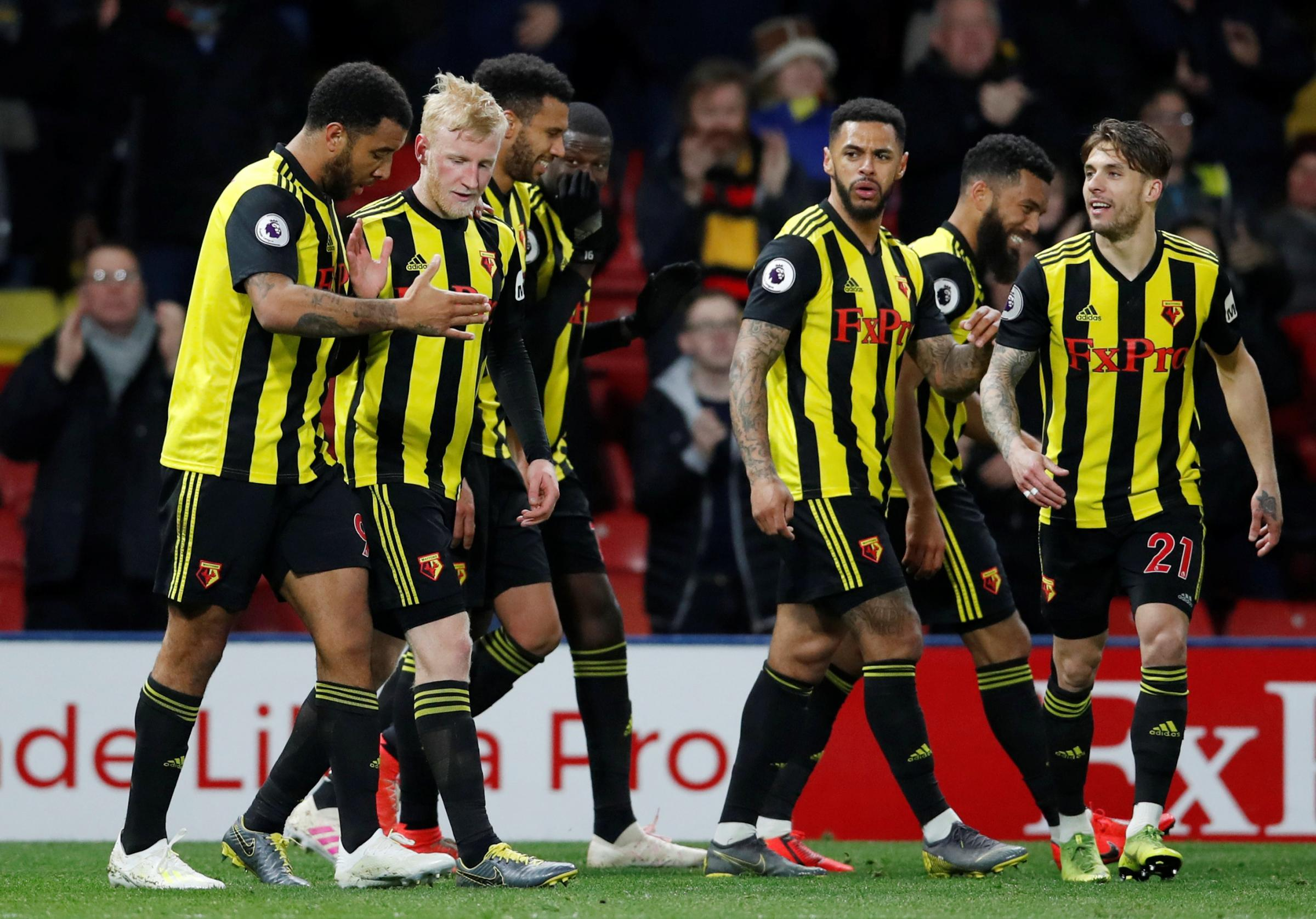 RATINGS: Watford reach Premier League points record