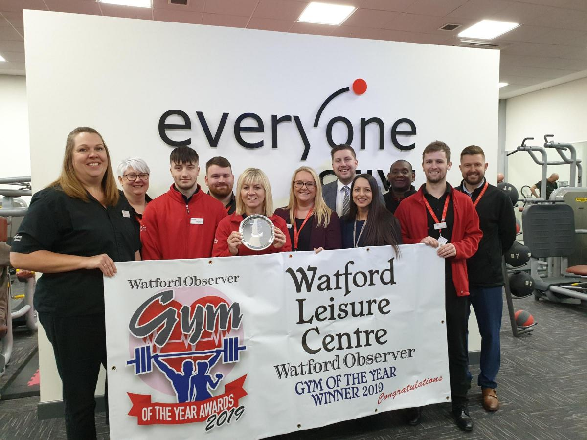 Watford Leisure Centre - Woodside wins Watford Observer gym of the