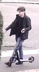 Officers would like to speak with the man pictured as he may have information which could assist with the investigation