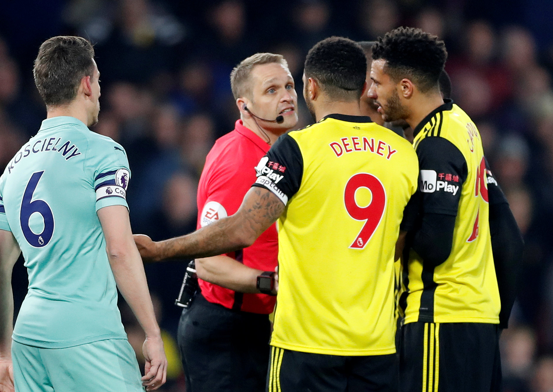 Deeney sees Red as Hornets lose at home