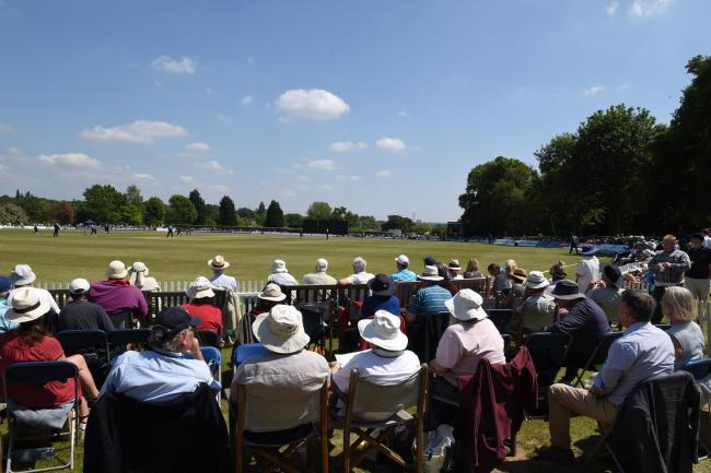 Middlesex in action at Radlett last summer. Picture: Matt Bright