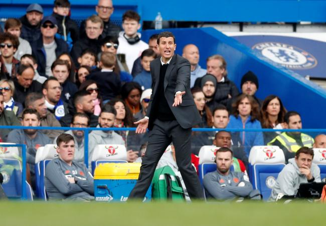 Javi Gracia believes Watford have had their chances to get a better points return against the Premier League's top six clubs this season. Picture: Action Images