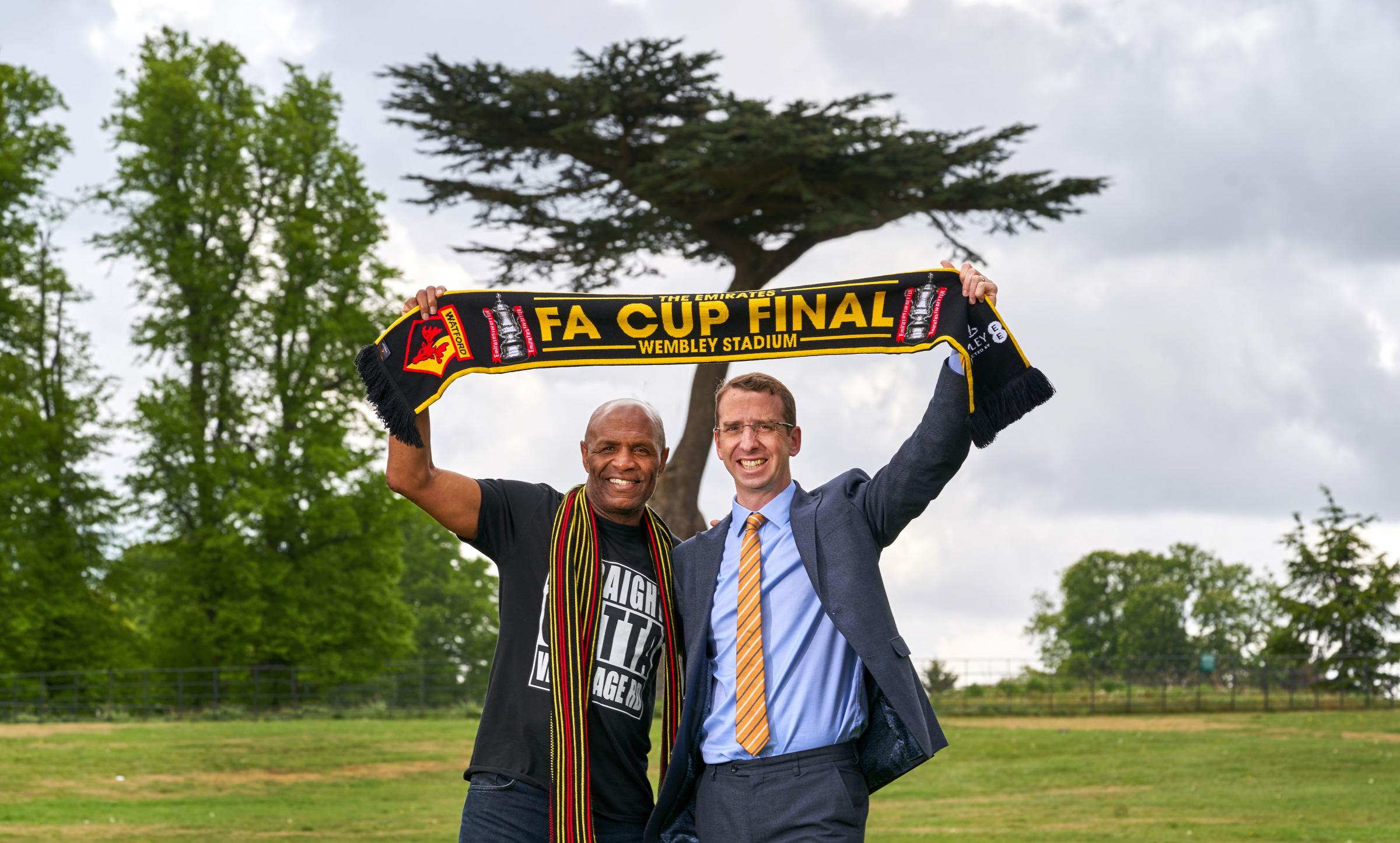 Watford mayor announces FA Cup Big Screen