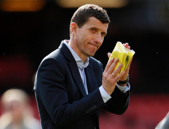 Javi Gracia thinks his side need to be more aggressive. Picture: Action Images