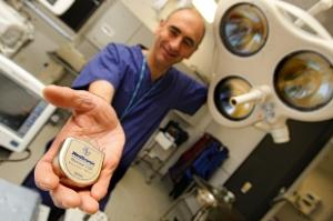 New life-saving device offered to heart patients at Watford General Hospital (UK)