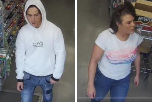 Do you recognise either of these people. Photo: Herts Police