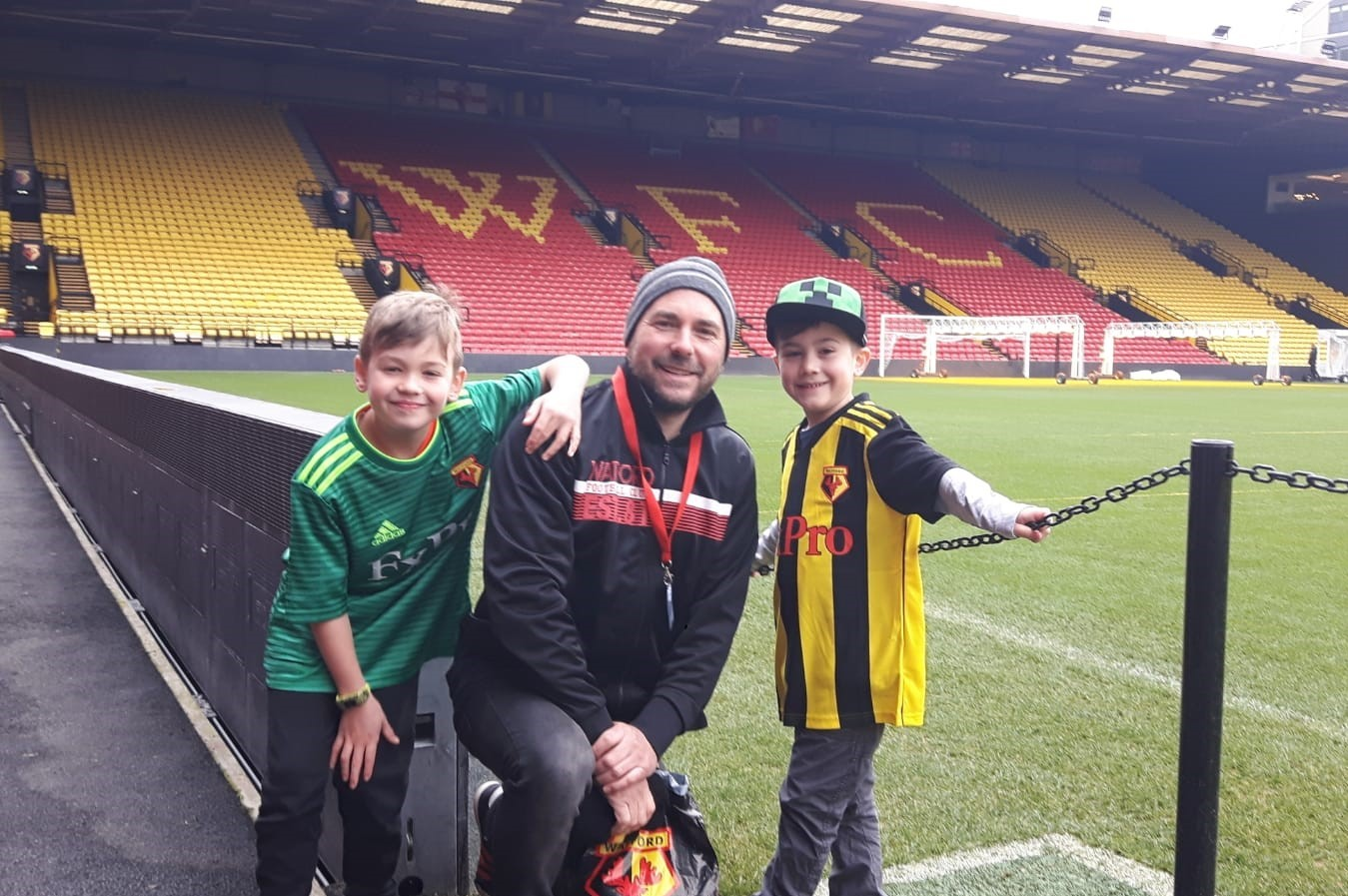 Meet the Hornet who has travelled more than 10,000 miles to be at Wembley