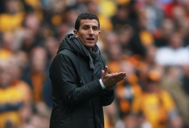 Javi Gracia at Wembley during Watford's semi-final. Picture: Action Images