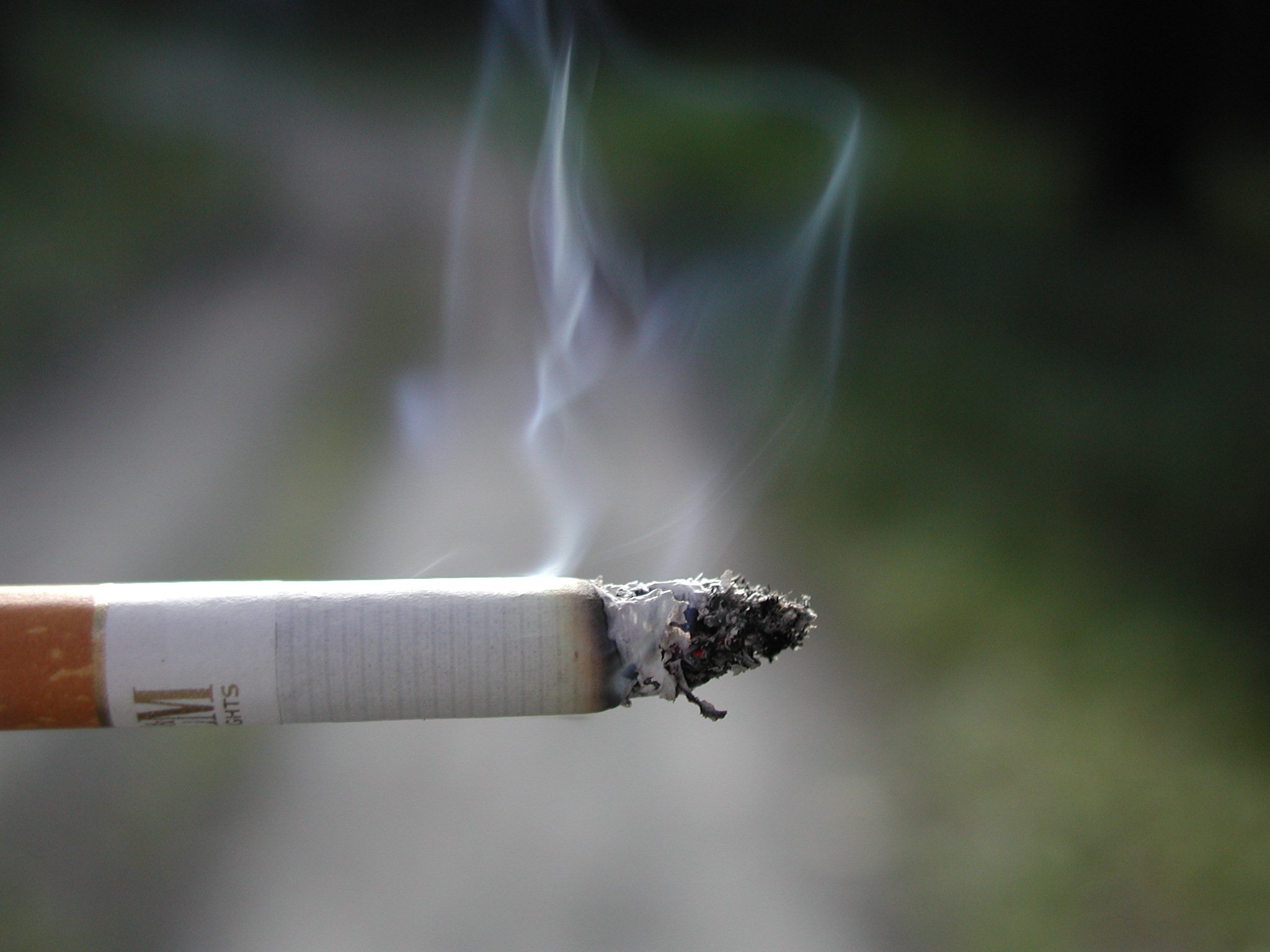 A councillor wants a total  ban on smoking at county council premises