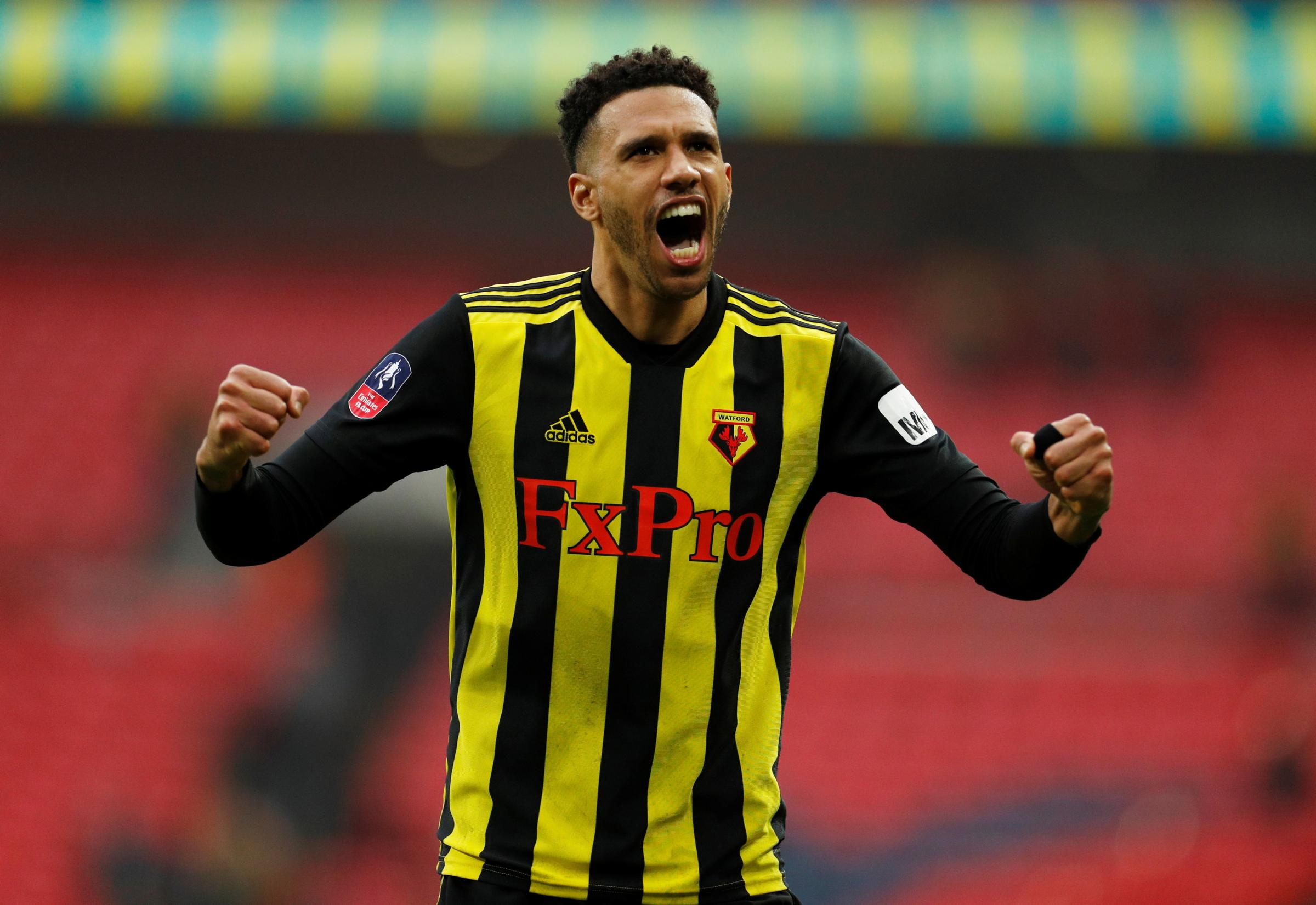 Etienne Capoue in the FA Cup semi-final. Picture: Action Images
