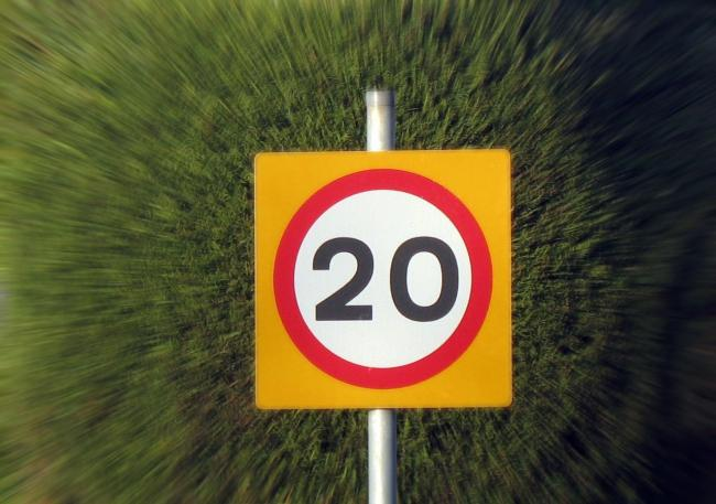 Jim Smith points out that many drivers ignore 20mph zones