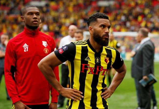 Adrian Mariappa after the FA Cup final. Picture: Action Images