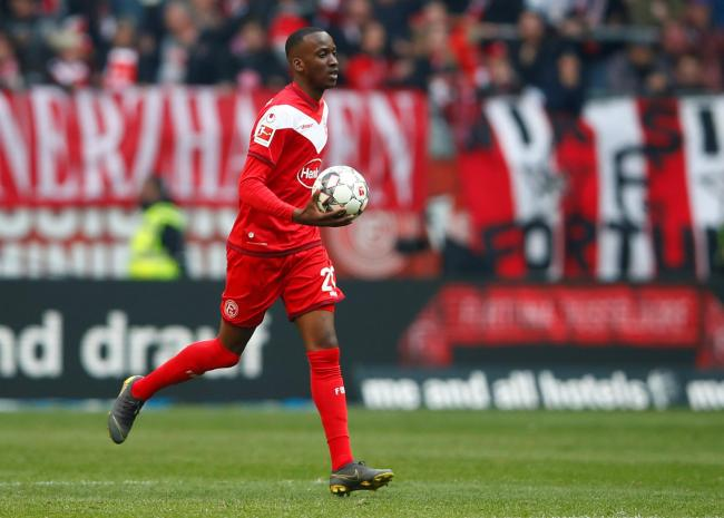 Dodi Lukebakio spent last season with Fortuna Dusseldorf. Picture: Action Images