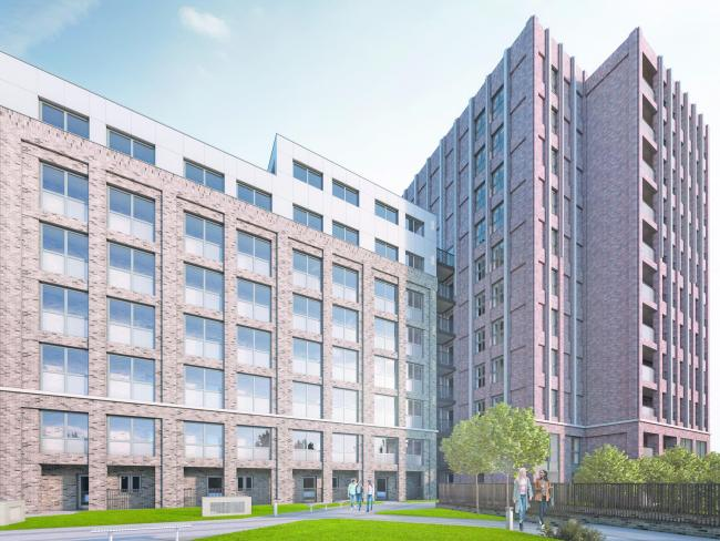 147 flats will be built in St Albans Road near Watford Junction