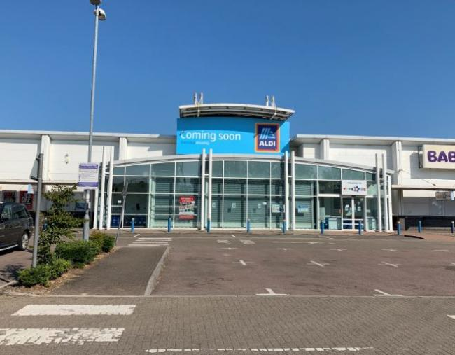 The new store in Century Park, Watford