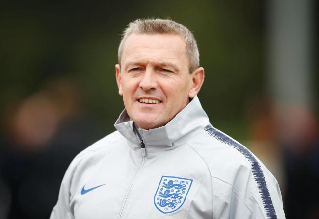 Aidy Boothroyd signed a contract extension as England Under-21 boss last week. Picture: Action Images