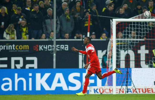 Dodi Lukebakio helped Fortuna Dusseldorf finish 10th in the Bundesliga this season. Picture: Action Images