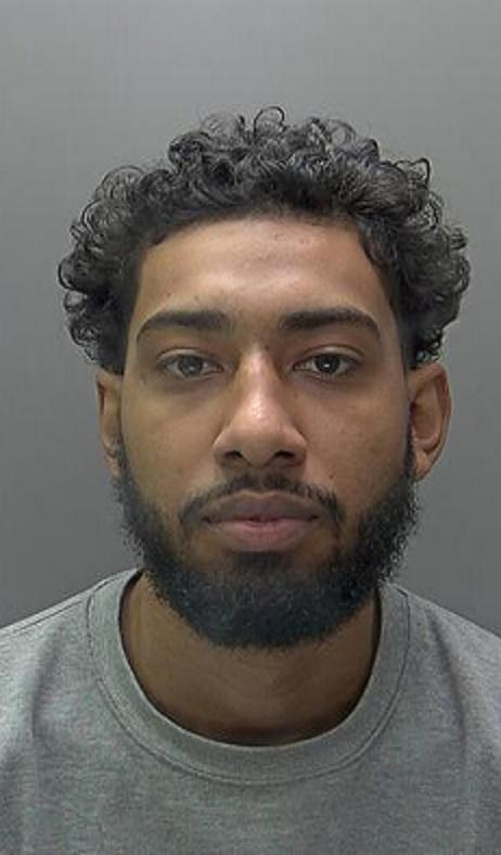 Anis Anderson, pictured, has been jailed for the murder of Ahsanullah Nawazai. Photo: Herts Police
