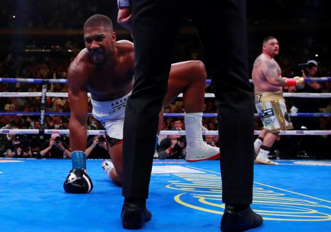 Anthony Joshua lost his world titles to Andy Ruiz Jr. Picture: Action Images