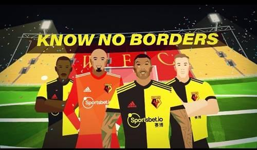 A video titled 'Know No Borders' has been released to mark the new partnership.