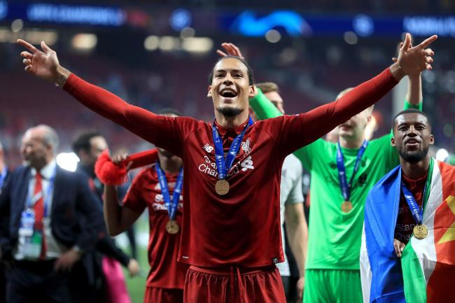 Virgil Van Dijk is hungry for more success after achieving his dream of winning the Champions League