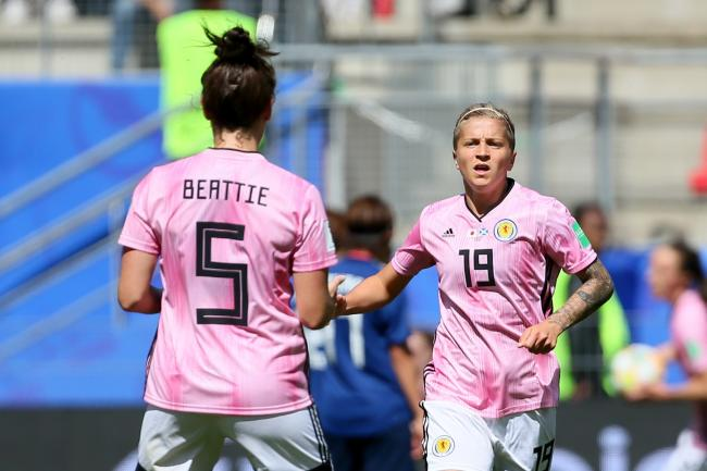 Lana Clelland's goal was not enough for Scotland
