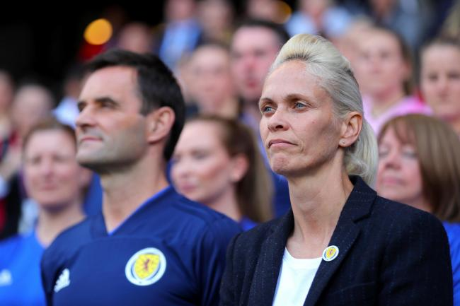 Shelley Kerr felt Scotland should have had a penalty