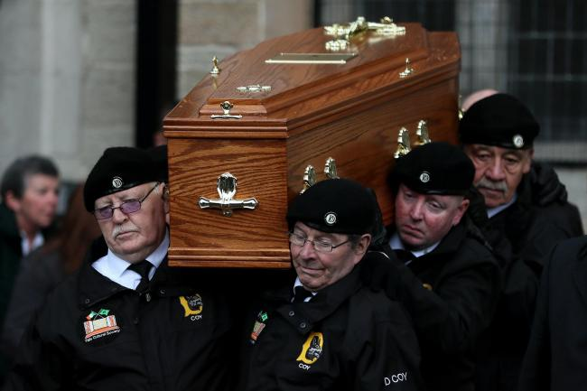 Billy McKee funeral